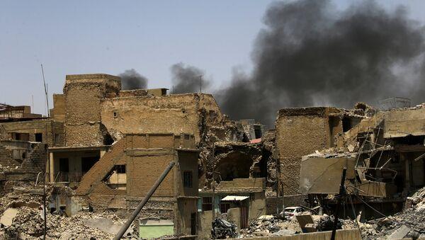Situación en Mosul, Irak (archivo) - Sputnik Mundo