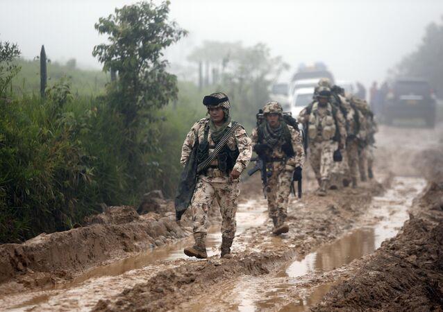Los militares colombianos