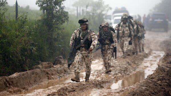 Los militares colombianos - Sputnik Mundo