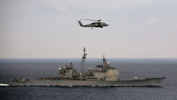 Las maniobras navales Malabar 2015 - Sputnik Mundo