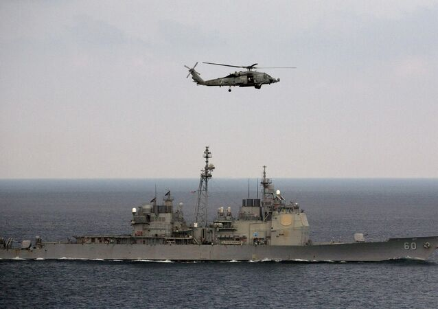 Las maniobras navales Malabar (archivo)