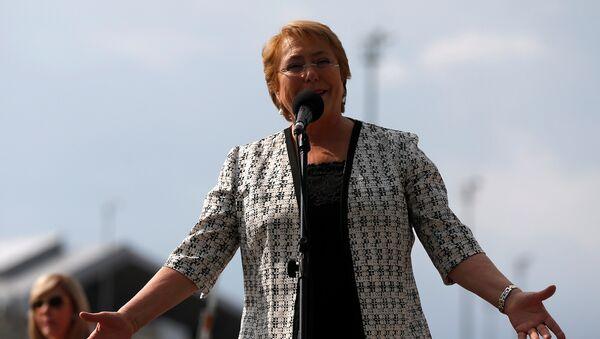 Michelle Bachelet, alta comisionada las Naciones Unidas para los Derechos Humanos (archivo) - Sputnik Mundo