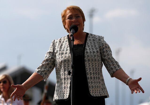Michelle Bachelet, la alta comisionada de las Naciones Unidas para Derechos Humanos