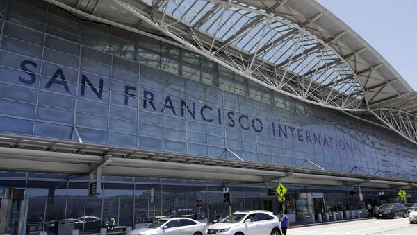 Aeropuerto de San Francisco, EEUU - Sputnik Mundo