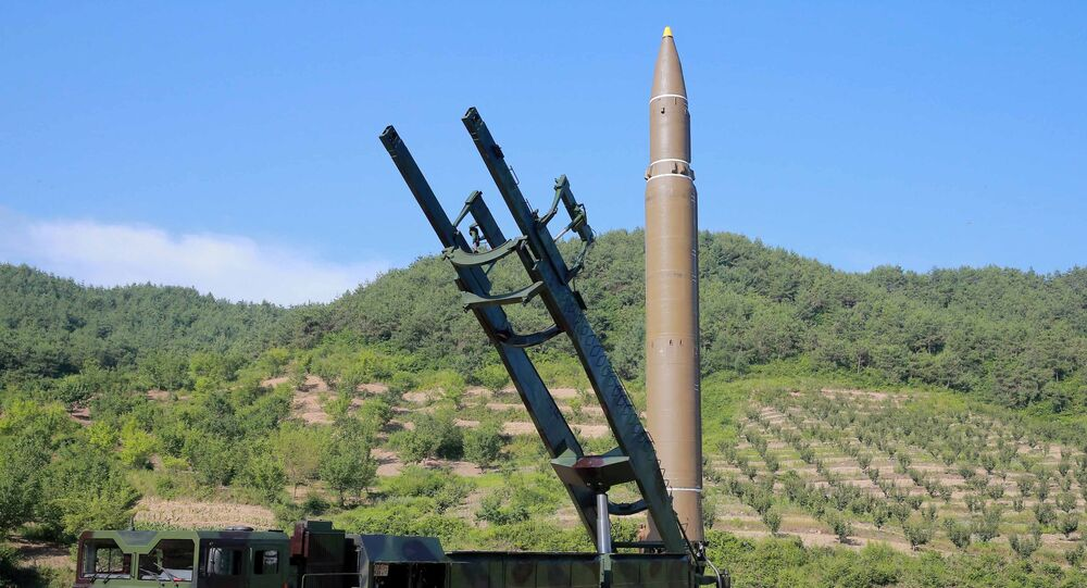 Un misil balístico intercontinental de Corea del Norte (Archivo)
