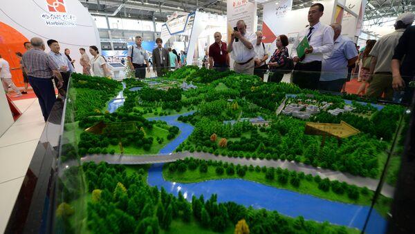 El proyecto de la 'ciudad inteligente' de Rusia, en exposición en la feria industrial Innoprom 2017 - Sputnik Mundo