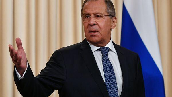 Serguéi Lavrov, ministro ruso de Exteriores (archivo) - Sputnik Mundo