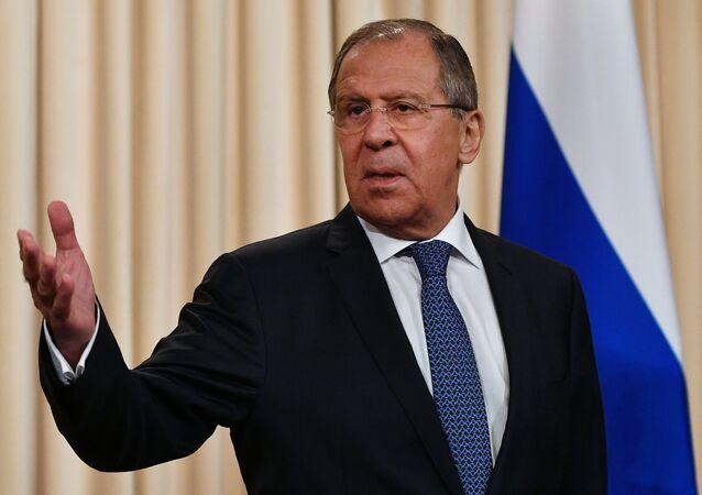 Serguéi Lavrov, ministro ruso de Exteriores (archivo)
