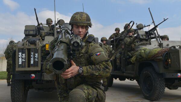 Las maniobras de la OTAN en la República Checa (archivo) - Sputnik Mundo