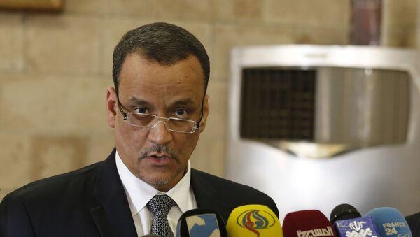 Ismail Ould Cheikh Ahmed, enviado especial de las Naciones Unidas para Yemen - Sputnik Mundo