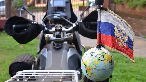 Moto del viajero ruso Oleg Jaritónov - Sputnik Mundo