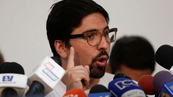 Freddy Guevara, vicepresidente de la Asamblea Nacional venezolana - Sputnik Mundo