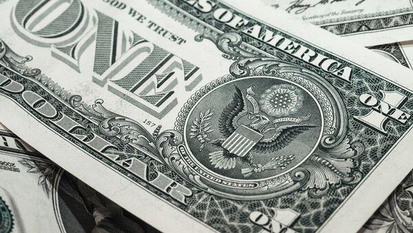 Dólar, moneda de EEUU (archivo) - Sputnik Mundo