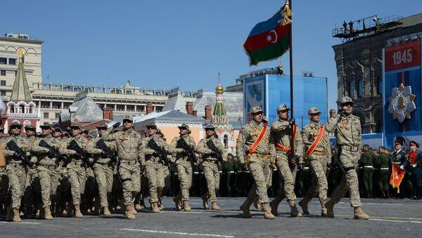 El Ejército de Azerbaiyán (archivo) - Sputnik Mundo