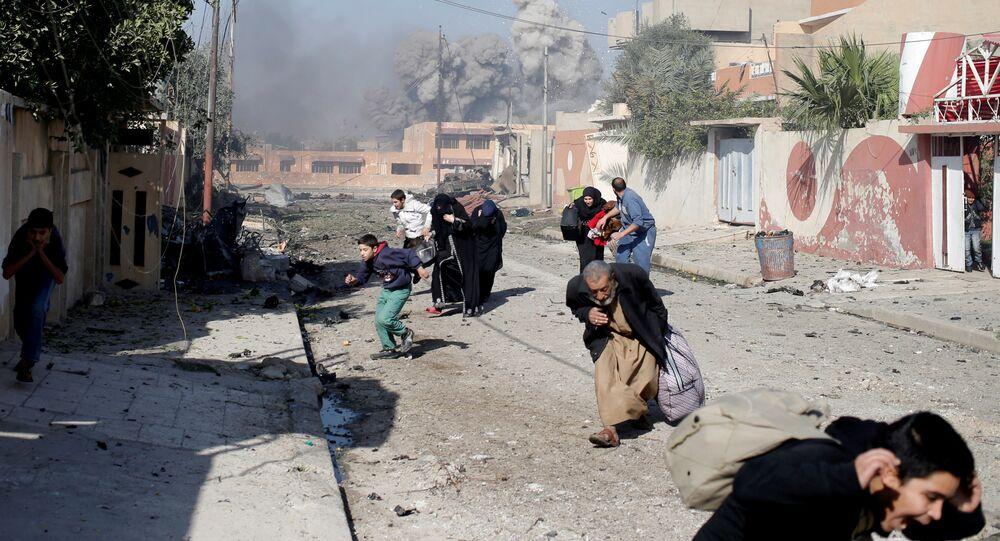 Combates en Mosul (archivo)