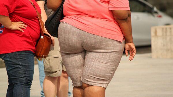 Obesidad (imagen referencial) - Sputnik Mundo