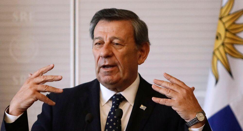 Rodolfo Nin Novoa, ministro de Relaciones Exteriores de Uruguay