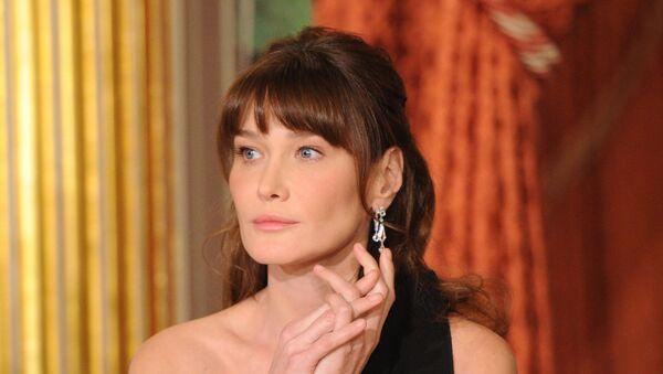 Carla Bruni, ex primera dama de Francia - Sputnik Mundo