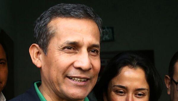 El expresidente de Perú Ollanta Humala y su mujer Nadine Heredia (archivo) - Sputnik Mundo
