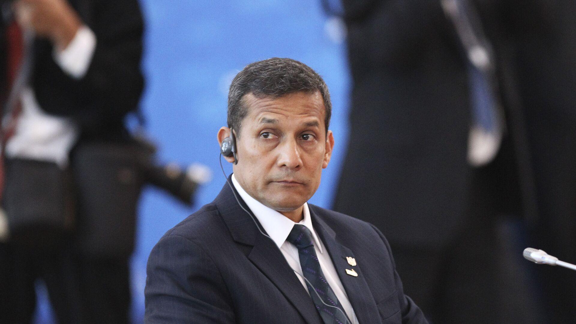 El expresidente de Perú Ollanta Humala  - Sputnik Mundo, 1920, 07.04.2021