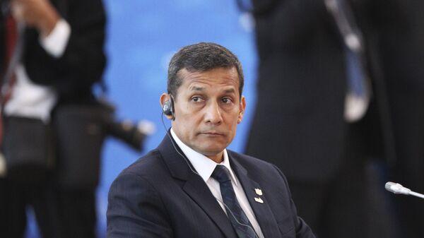 El expresidente de Perú Ollanta Humala  - Sputnik Mundo