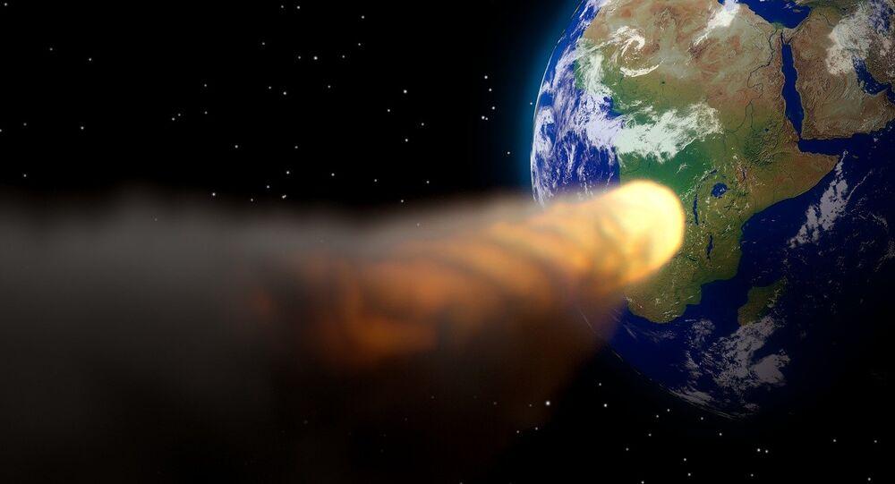 Un asteroide se dirige hacia la Tierra