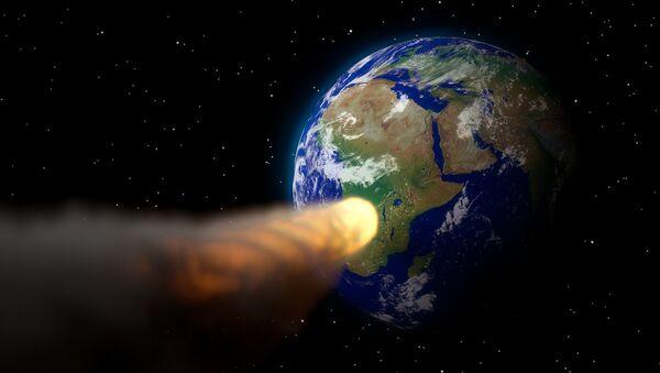 Un asteroide se dirige hacia la Tierra - Sputnik Mundo