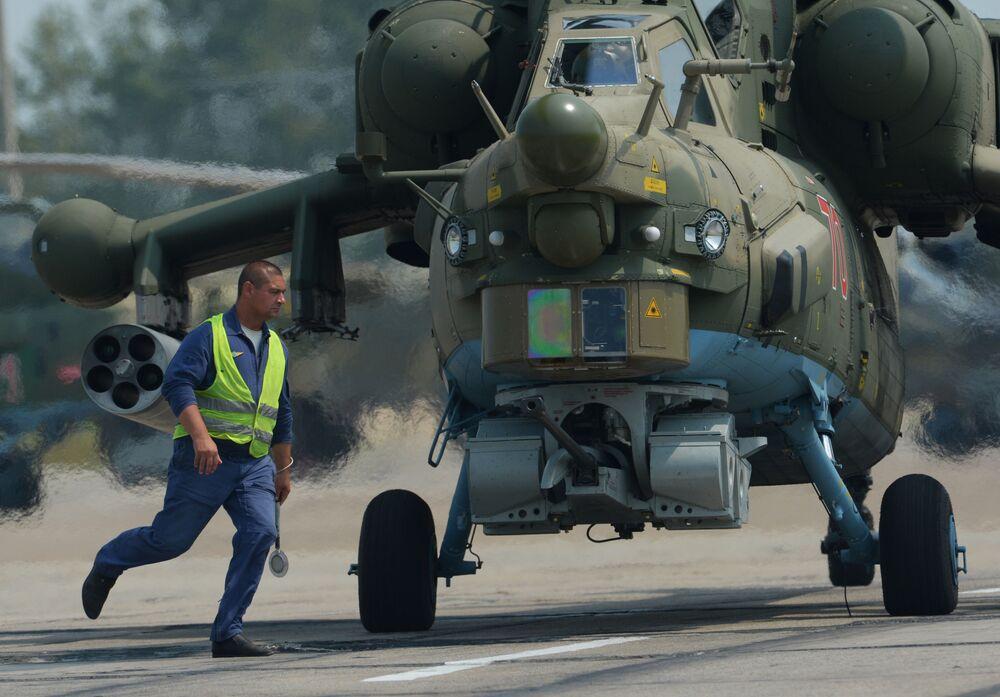 Los 'tanques voladores' rusos conquistan los cielos del Lejano Oriente