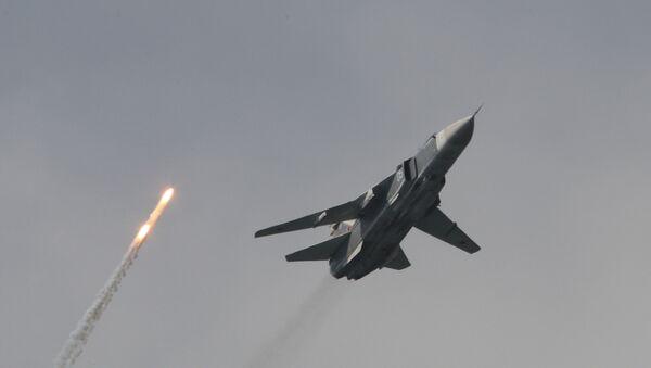 Un bombardero Su-24M - Sputnik Mundo