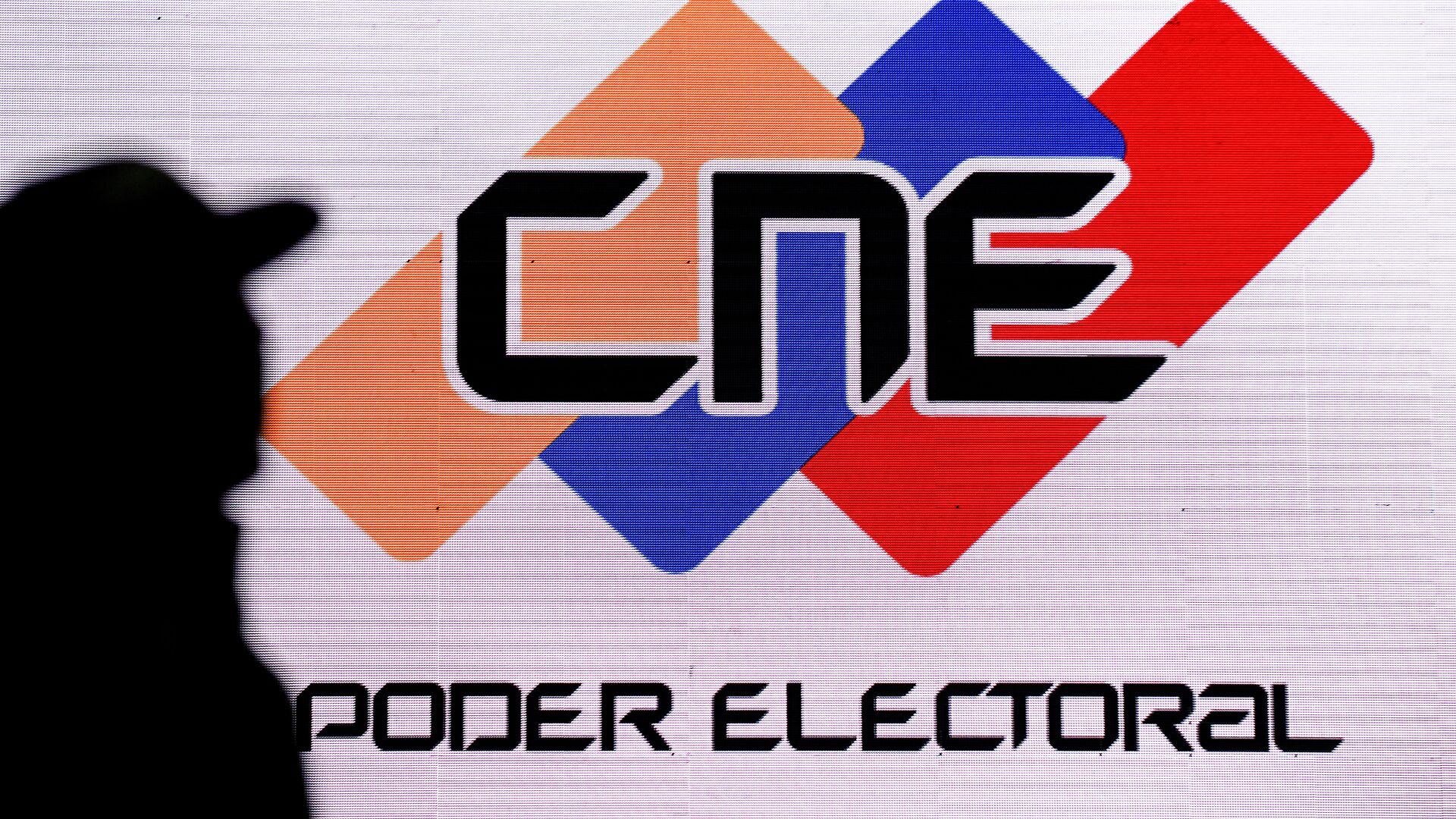 Logo de CNE de Venezuela- Sputnik Mundo 1920