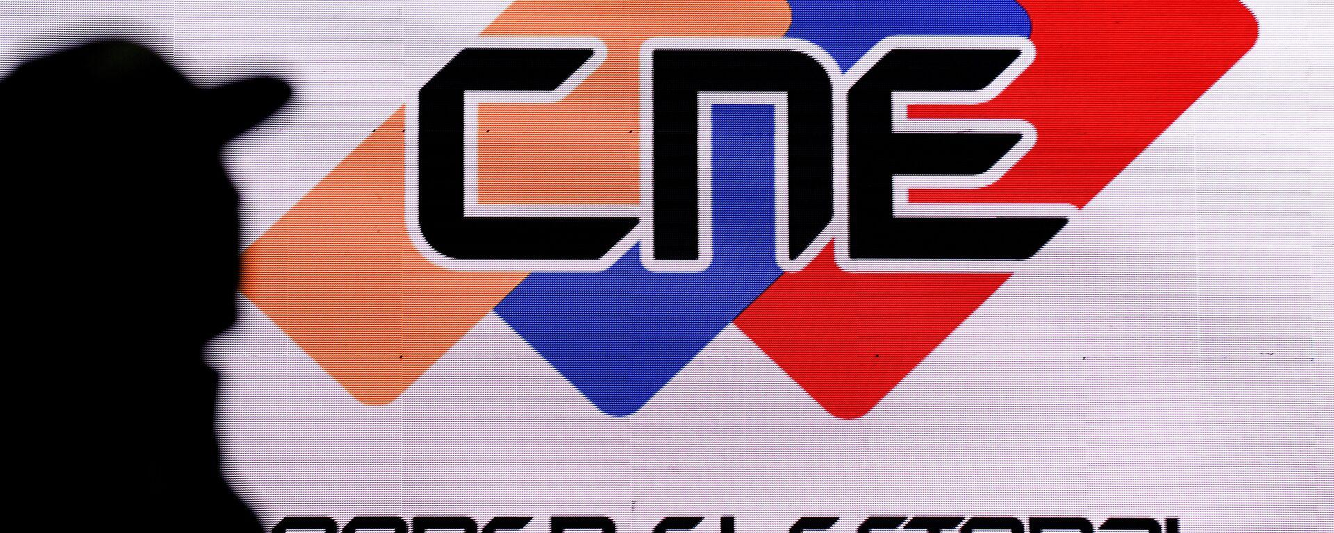 Logo de CNE de Venezuela - Sputnik Mundo, 1920, 04.05.2021