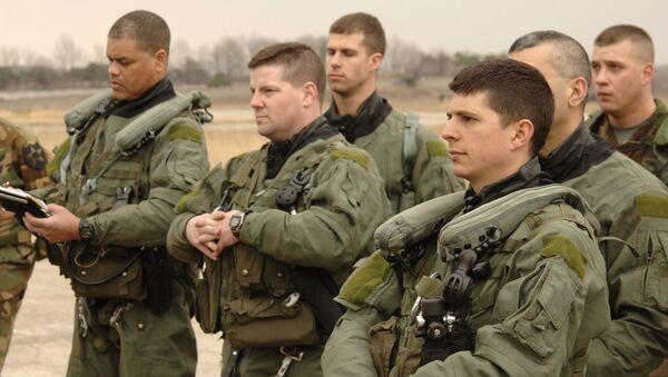 Pilotos militares estadounidenses - Sputnik Mundo