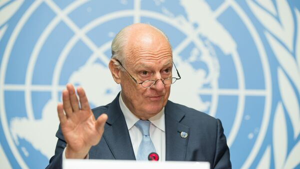Staffan de Mistura, el enviado de la ONU para Siria (archivo) - Sputnik Mundo