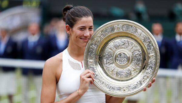 Garbine Muguruza, la ganadora de Wimbledon - Sputnik Mundo