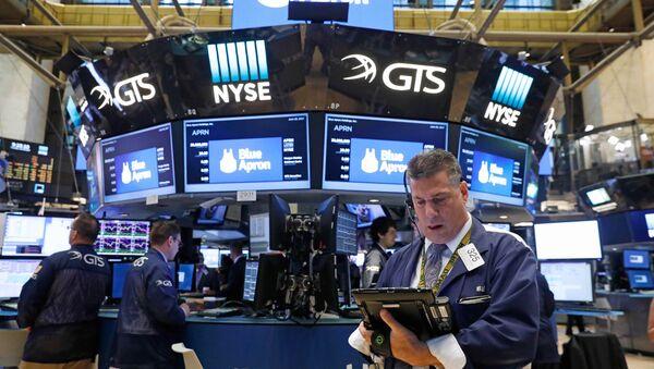 La Bolsa de Nueva York - Sputnik Mundo