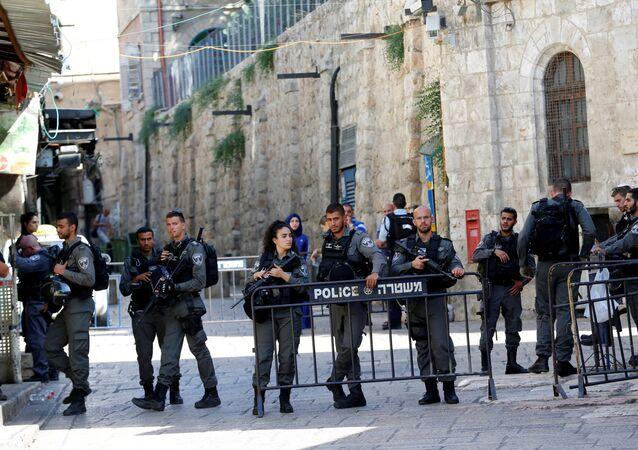 israelí en el lugar del ataque en Jerusalén (archivo)