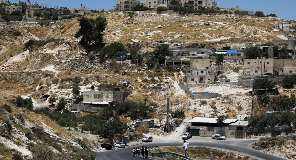 La situación en Cisjordania (archivo)