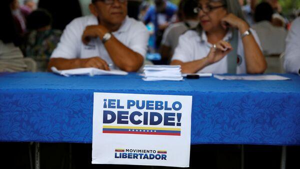 Un plebiscito opositor a la Asamblea Constituyente en Venezuela - Sputnik Mundo