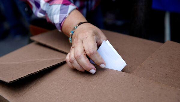 Votaciones en Venezuela (archivo) - Sputnik Mundo