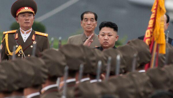 Kim Jong-un, Lider de la Corea del Norte - Sputnik Mundo