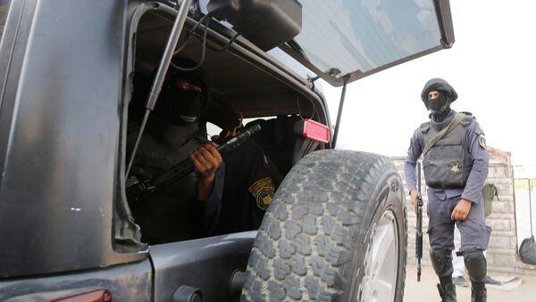 Policía egipcia - Sputnik Mundo