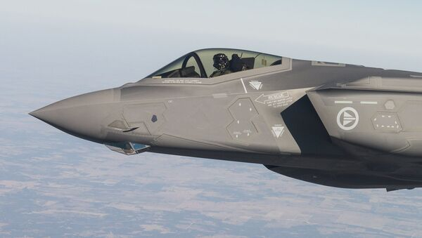 El caza F-35 (archivo) - Sputnik Mundo