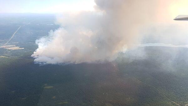 Incendios forestales en la Columbia Británica, Canadá - Sputnik Mundo