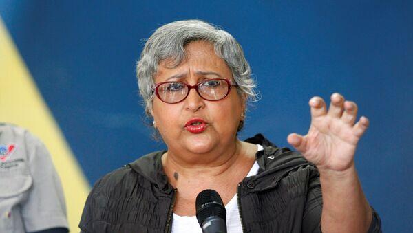 Tibisay Lucena, presidenta del Consejo Nacional Electoral de Venezuela (archivo) - Sputnik Mundo