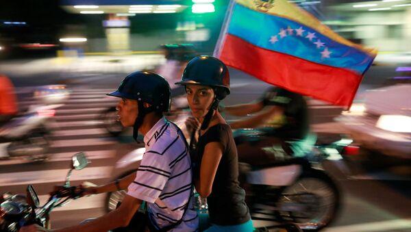 Opositores venezolanos - Sputnik Mundo