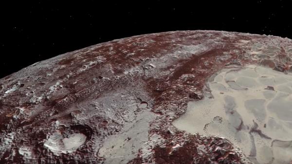 Un espectacular vídeo de la NASA te lleva a la superficie de Plutón - Sputnik Mundo