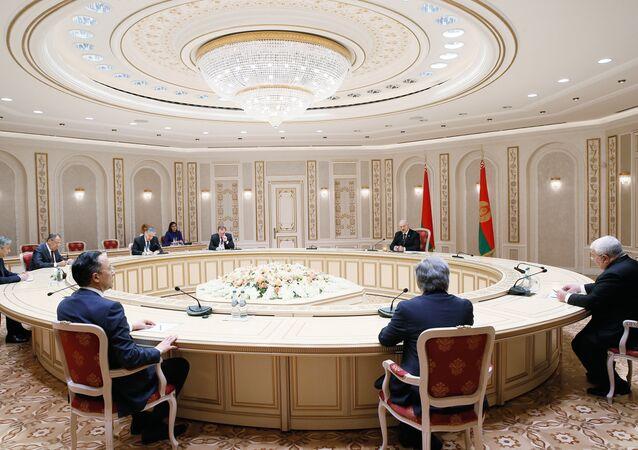 Cumbre de los países miembros de la OTSC (archivo)