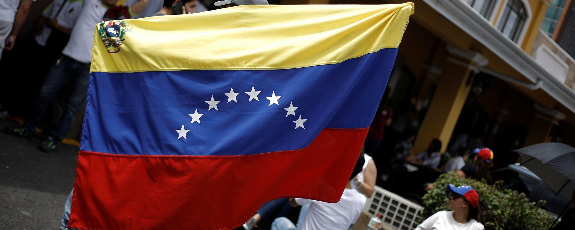 Bandera de Venezuela (imagen referencial) - Sputnik Mundo, 1920, 23.08.2021