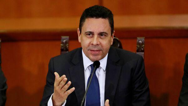 Samuel Moncada, embajador de Venezuela ante la ONU - Sputnik Mundo
