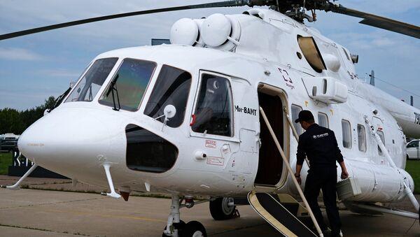 El helicóptero convertible Mi-8AMT - Sputnik Mundo